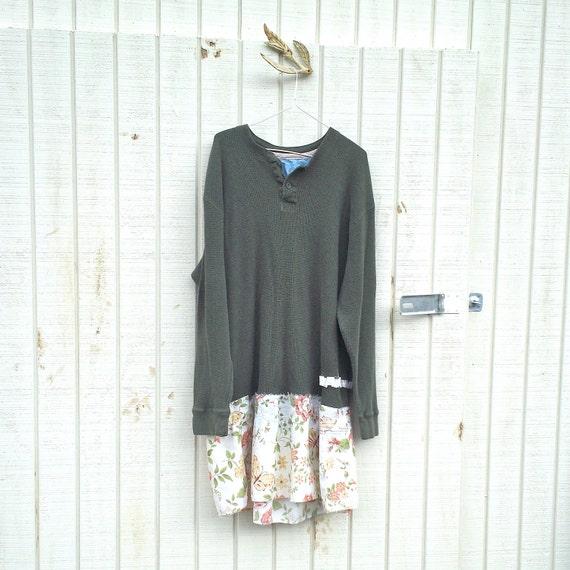 Funky Dress / Eco Dress / Upcycled Clothing / By CreoleSha