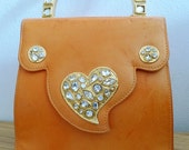Vintage Edouard Rambaud jewelled purse