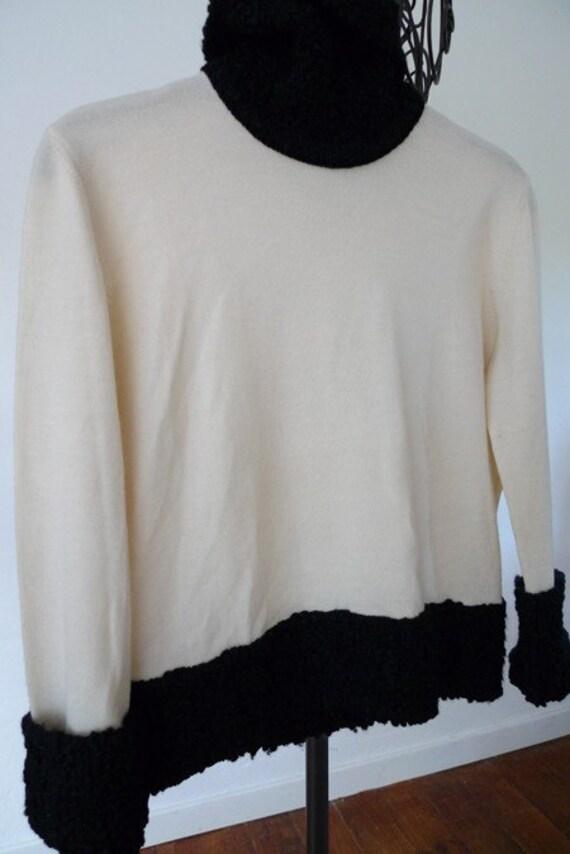 SALE Christian Dior vintage wool sweater