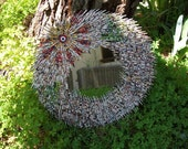 Paper Beads,Sunshine Wall Mirror, Recycling