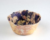 Petunia Punch - Handcrafted Fine Art Bowl