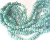 Larimar beads Larimar nuggets 8 inches strand