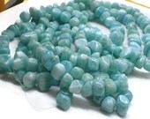 Larimar beads whole strand 16 inches long