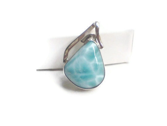 Atlantis Larimar pendant set in Sterling Silver 925