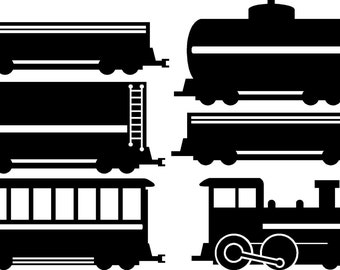Train Wall Decal Sticker Removable Railroad Wall Art