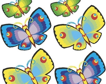 Butterfly Decals Removable Butterlfy Wall Stickers