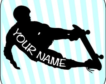 Personalized Skateboard Boy Wall Decals Removable Skateboarding Wall Stickers Art Graphics Item 33
