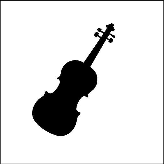 Violin Decal Removable Violin Wall Sticker