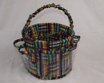 Kids' Craft Supplies Storage Bucket - Available in 2 Fun Prints