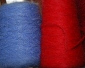 De-stash Weaving yarn Barrington Mohair Wine