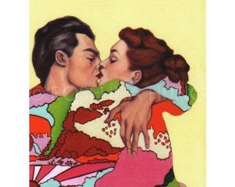 Summer Romance 1 (Study) - Giclee Print