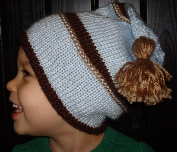 Little Boy Blue Boys Knit Toque Hat Sized 2 years and