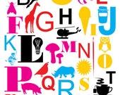 English Alphabet Number 1 Primary - Alfabeto Inglês