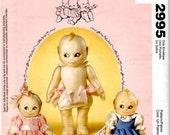 Kewpie Doll Pattern - McCall's 2995