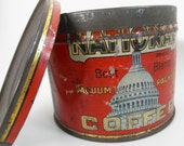 NATIONAL Brand Coffee Can with Lid