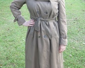 Reserved for Cinzaw-Vintage Burberry Trench Coat- Free US shipping