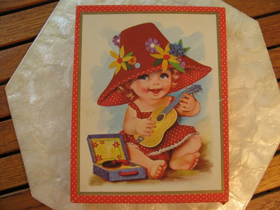 Box 9 Large Cards with Babies Over-size w/envelopes