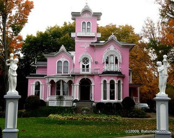 The Pink House, Wellsville New York