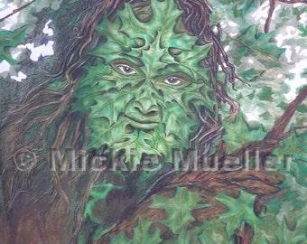 Greenman Limited Edition Print