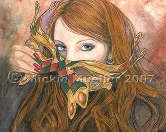 Autumn Masque Open Edition Print