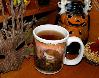 Autumn Masque 15 oz Coffee Mug