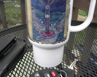 Polymer Travel Mug Fantasy Crossroads of Hecate