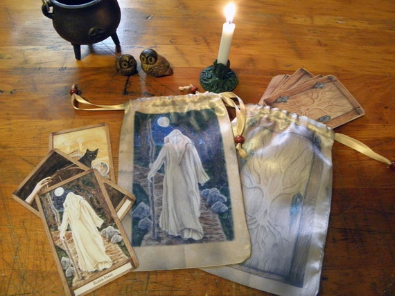 The Elder Staff, The Hidden Path Oracle or Tarot Bag
