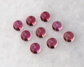 Pink Tourmaline Cabochon Cab 5mm Round - One