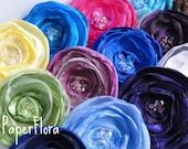 Fabric Flower  handmade, DIY wedding embellishment