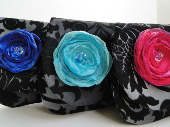 Black print clutch on Sale only one (1) left Clearance price