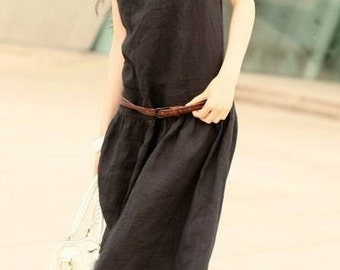 i'd come to love you--black sundress(more colour and size choice)-C2