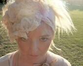 CUSTOM - Ethereal shore line Bonnet headband - by RawHemline