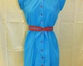 Vintage Blue 50's dress