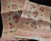 Pretty Pink Kitchen Towels