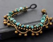 Chandelier Turquoise Bracelet