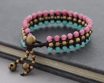 Summer Love Beaded Bracelet