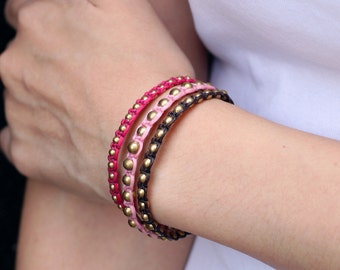 Femme Rocker Stud Bracelet