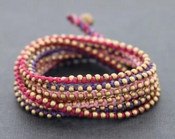 Sweet punk Wrap Bracelet
