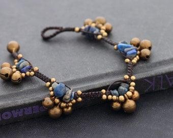 Lapis Gypsy Bracelet