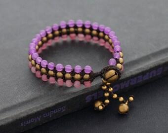 Sweet Pastel 3 Row Bracelet