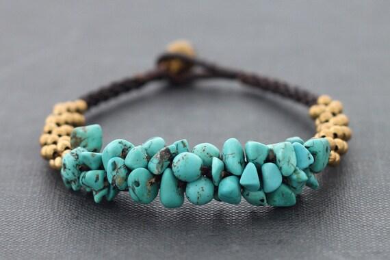Turquoise Bunch Bracelet