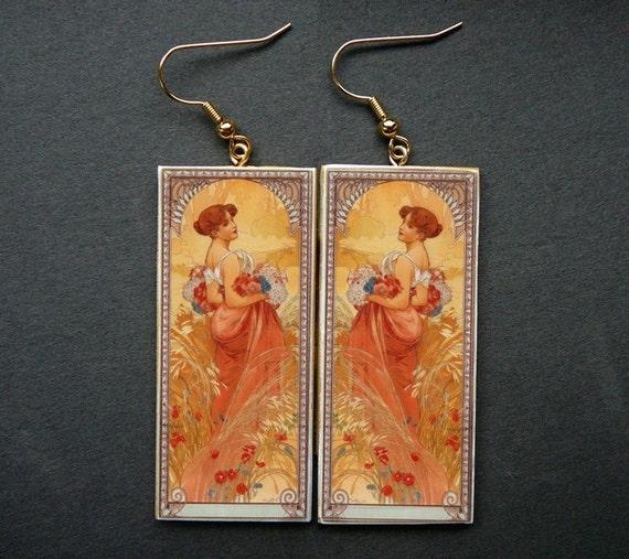 Spring awakening earrings