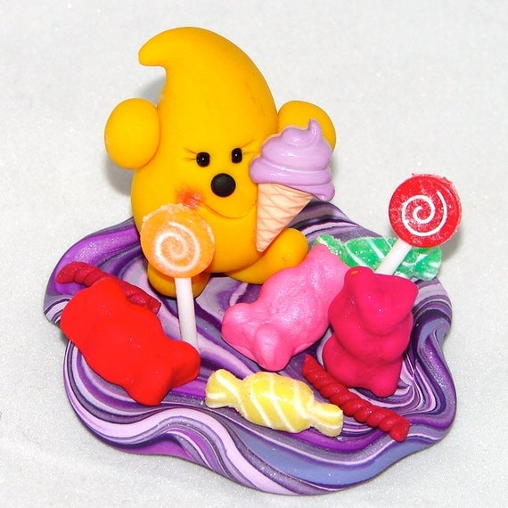 SWEET TREATS PARKER Polymer Clay Character - Limited Edition Figurine