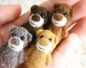 A set of 4 miniature bears - for a reduced price