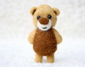 Brown and beige pocket bear 33