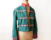 Vintage Military Blazer / French Jacket / Nutcracker Coat / 1950s Château de VERSAILLES