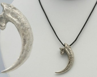 Eagle Talon Necklace Bald Eagle Jewelry made in NYC
