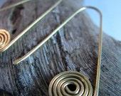 Guanina Spiral Taino Earrings