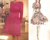Vogue American Designer 1055  Oscar de la Renta dress