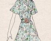 vintage pattern 1970's